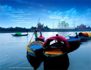 One of 'Incredible India' print campaigns