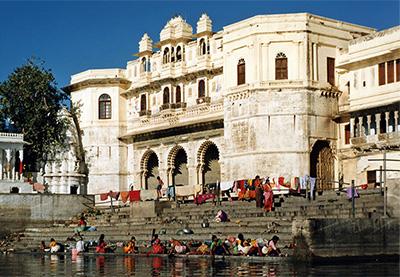 Bathing Ghats of Udaipur