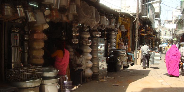 Bazaar-of-Udaipur