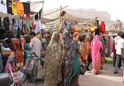 Ghanta Ghar Market walk