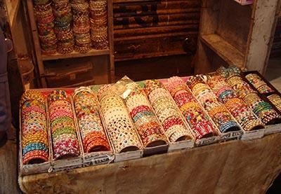 Bazaar Walk Old Agra