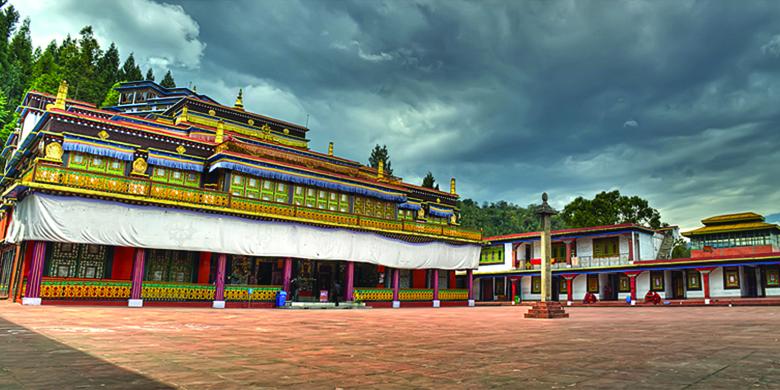 Rukmtek-Monastery
