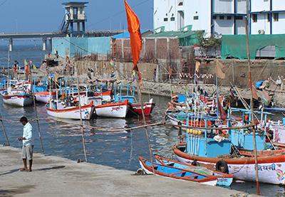Worli Fishing Village